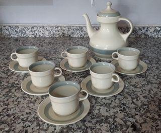 Juego café porcelana Leibits
