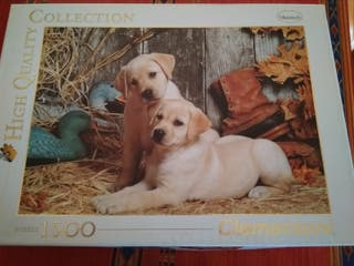 "Puzzle 1500 piezas Clementoni ""animals"""