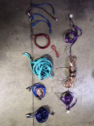 cableado altavoces