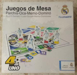 Juego Real Madrid 4 en 1