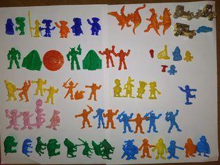lote figuras dunkin