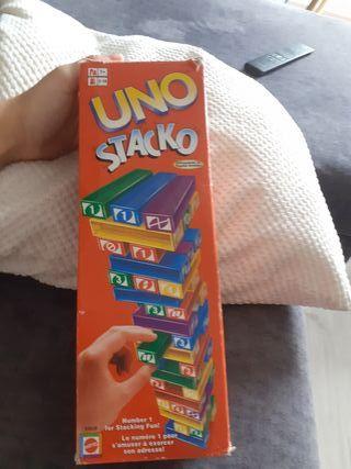 Uno stacko juego niños +7
