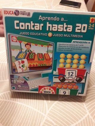 APRENDO A CONTAR HASTA 20 DE EDUCA MULTIMEDIA