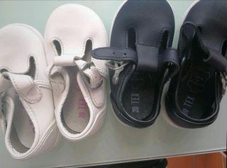 lote de zapatos de bebé
