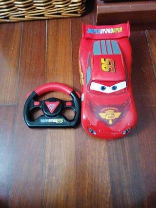Coche control remoto De Cars Disney