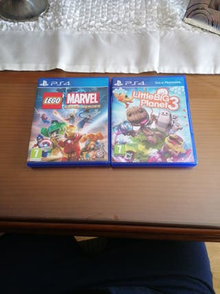 Lego Marvel super heroes y Little Big Planet 3