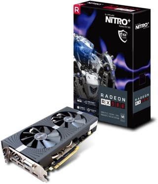 Tarjeta grafica rx 580 nitro+ 8 gb nueva