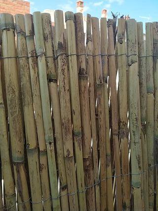 Cañizo natural 1 m x 5 m ocultación decoración