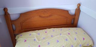 Cabezal cama, somier y colchon