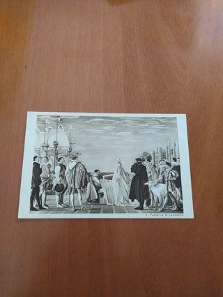 postal antigua de Inglaterra