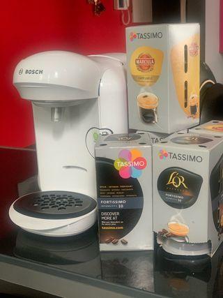 Cafetera Bosch Cápsulas Tassimo