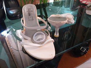 sandalias blancas 38