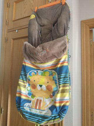 Dos sacos Jane para carro bebé