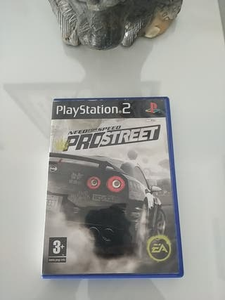 Need for Speed Pro Street PS2 Completo