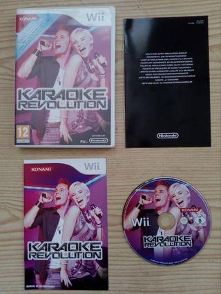 Juego Nintendo Wii - Karaoke Revolution
