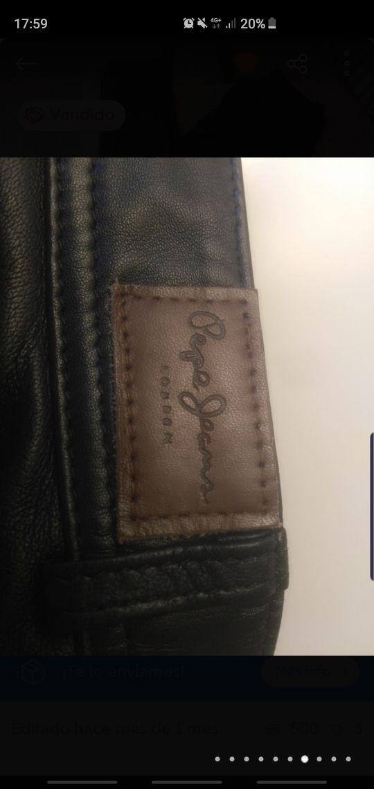 urge pantalón de cuero Pepe Jeans