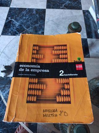 libro 2 de bachillerato economia
