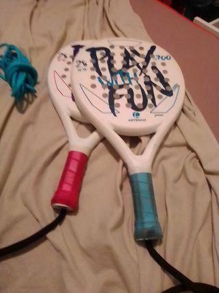raquetas de paddle