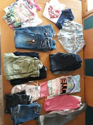 Lote de ropa 6/7 años