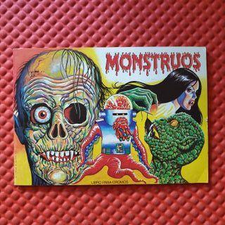Monstruos - Álbum de cromos 1986