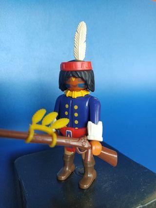 Playmobil 4552 especial indio explorador caballeri