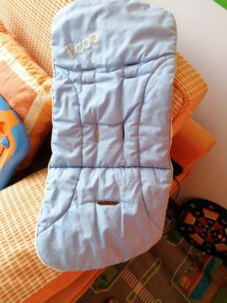 Saco para silla (parte de abajo) reversible