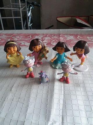 figuras Dora la exploradora