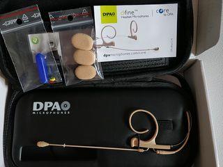 DPA d:fine CORE 4266 Micrófono Diadema Voz Teatro