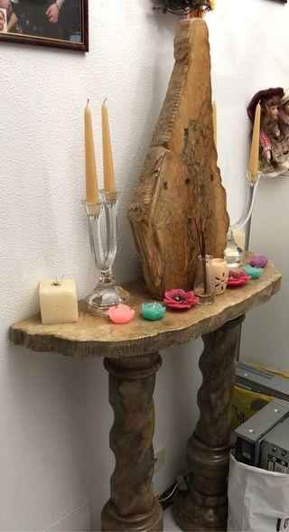Recibidor de marmol