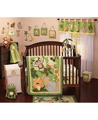 decoración cuarto bebé animales de safari