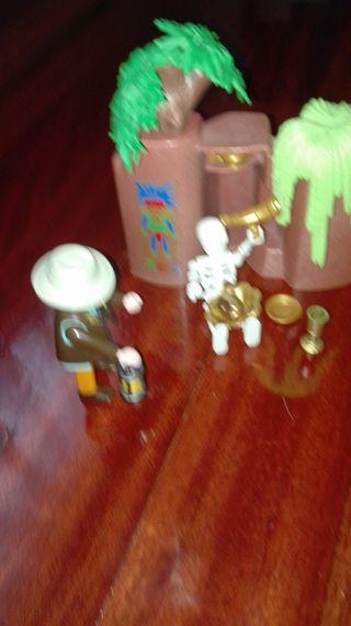arqueólogo explorador playmobil