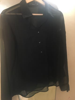 Camisa Fiesta Negra