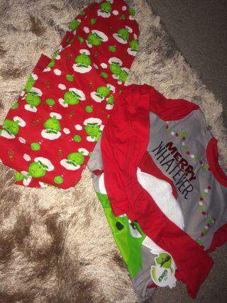 Christmas Grinch Pjama set