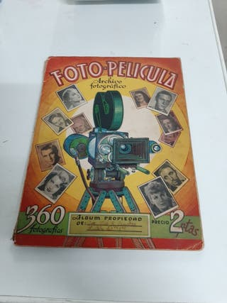 antiguo album.FOTO PELICULA.año 1944.