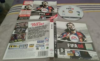 FIFA 08 PS3 PLAY3 RONALDINHO GAUCHO 2008