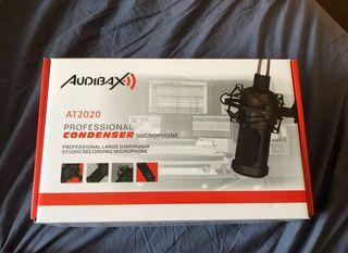Micrófono de condensador estudio