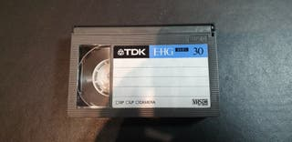 Cintas VHS C para videocámara