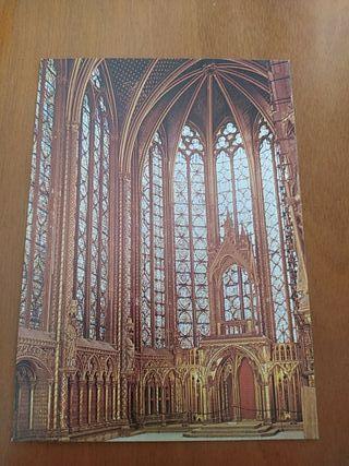 postal Saint chapelle París