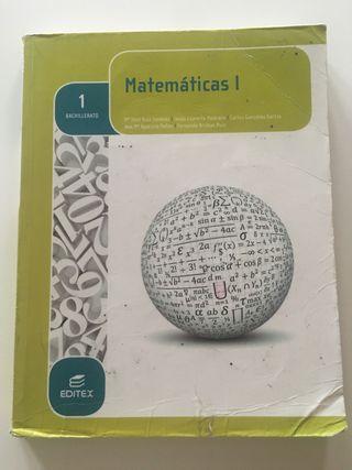 MATEMÁTICAS 1 Editorial Editex