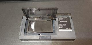Adaptador cintas VHS C a videoreproductor
