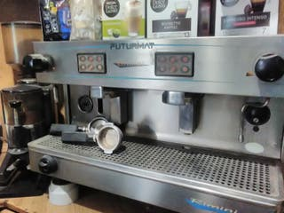 cafetera industrial funcionado correctamente