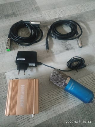 Micrófono condensador neewer n-w 700