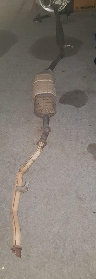 tubo de escape para bmw e36 compac