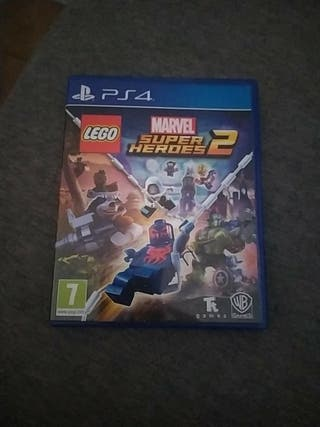Lego Marvel super haroes 2 ps4