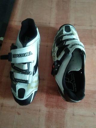 zapatillas mtb y spinning Diadora 41'5