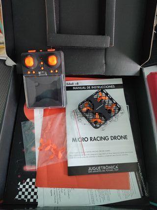 micro dron de carreras