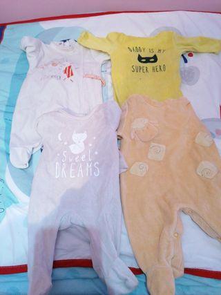 lote 4 pijamas