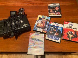 Sega con juegos