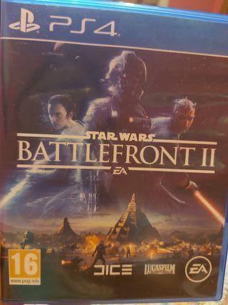 Juego Star Wars Battlefront II para PS4