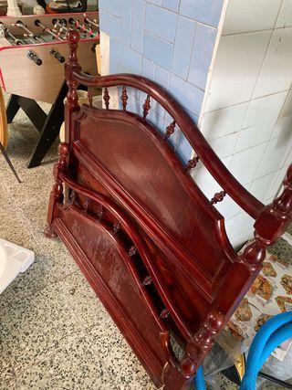 Cabecero cama y piecero 105cm